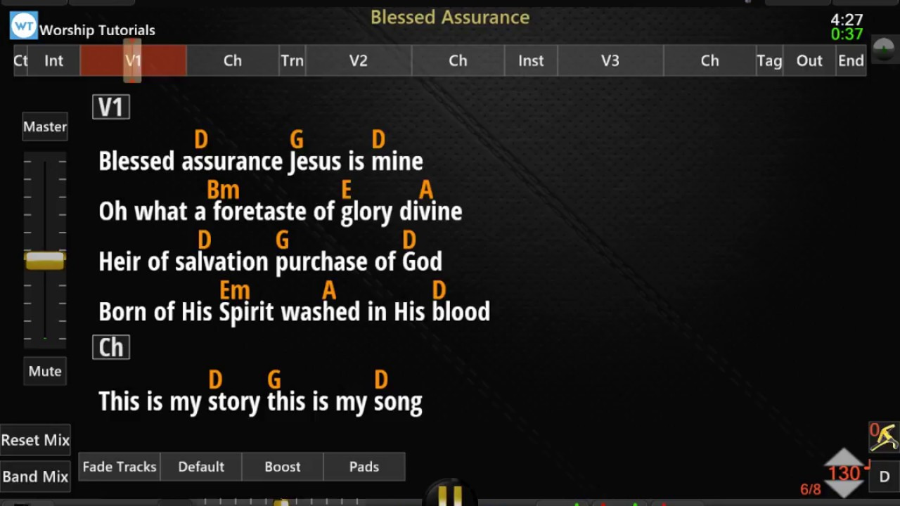 WorshipSong Band Is a Powerful Free Multitrack Player