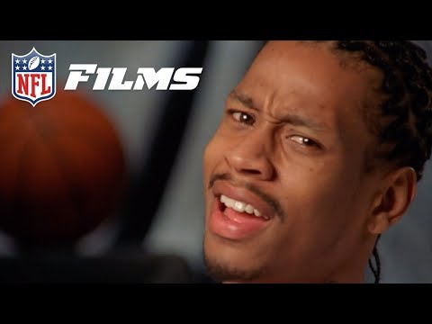 Allen Iverson Reacts to his High School Football Highlights