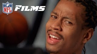 Allen Iverson Reacts to his High School Football Highlights!