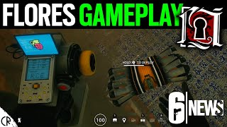 Flores Gameplay & Gadget Overview - Crimson Heist - 6News - Rainbow Six Siege