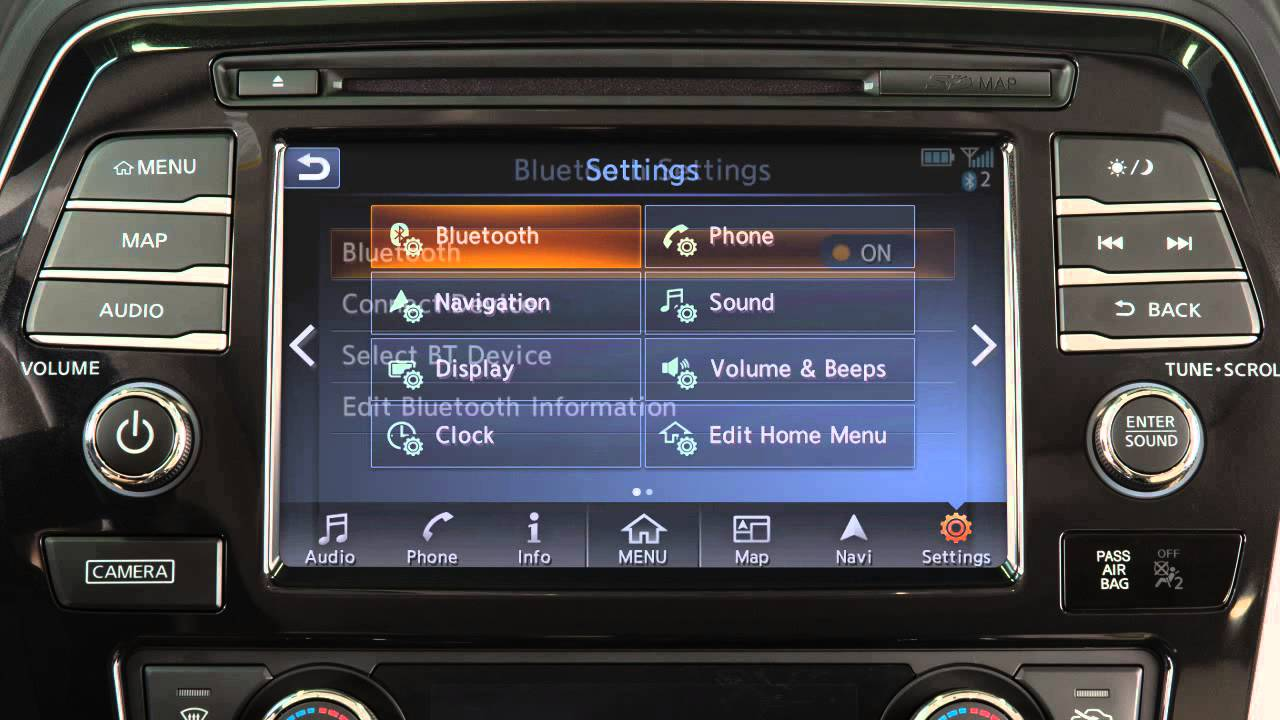 2016 Nissan Maxima - Bluetooth Streaming Audio (if so ...