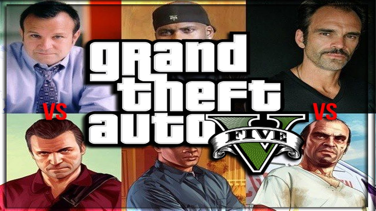 GRAND THEFT AUTO V (Gta 5) CHARACTERS IN REAL LIFE!