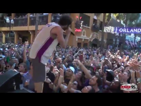 Lil Dicky - $ave Dat Money (Live) at POWER 95.3's Most Epic Sunday Funday