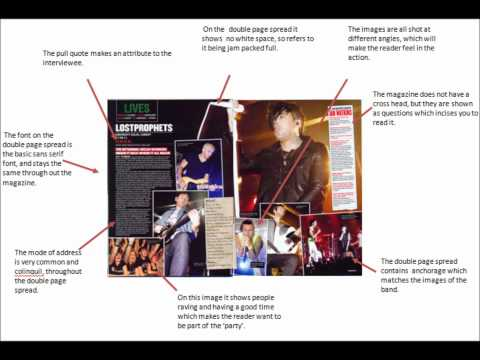 Analysis of Music Magazine (Front Cover, Contents Page & Double Page Spread)