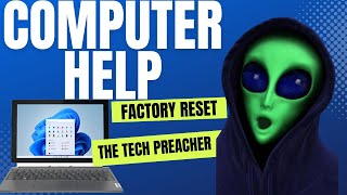 Factory Reset Your Windows PC NOW!!! 2017 | Window 7, 8, 10, Vista, XP |  HELP IS HERE