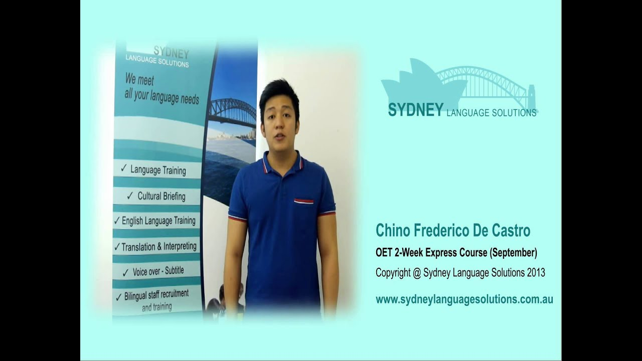 OET Course | Sydney Language Solutions