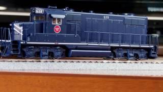 HALLMARK/KMT MOPAC EMD GP18 LH WITH DCC
