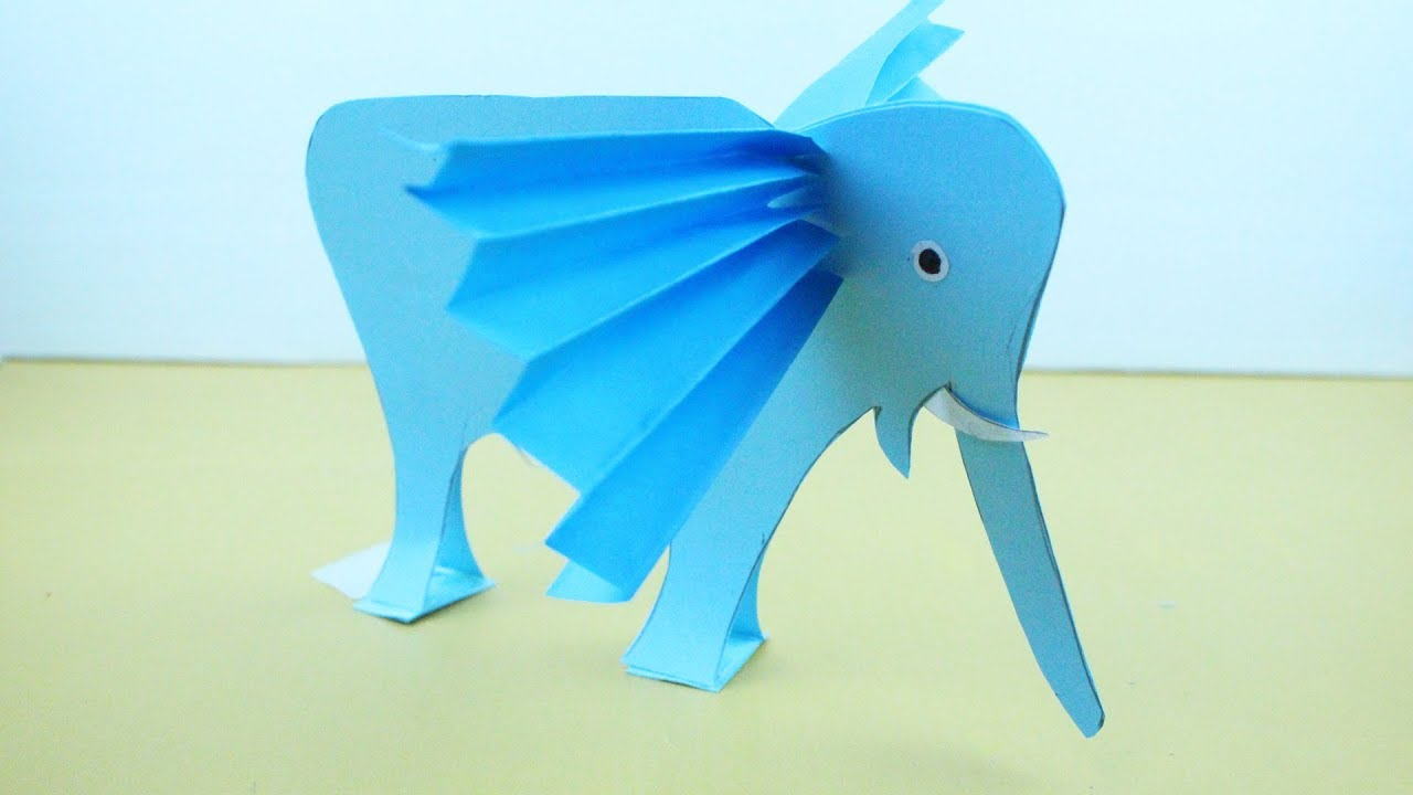 Origami Elephant In Animals By Easy Instructions