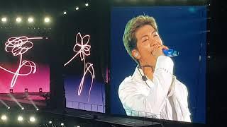 052519   BTS SPEAK YOURSELF WORLD TOUR SAO PAULO opening speech & wings intro