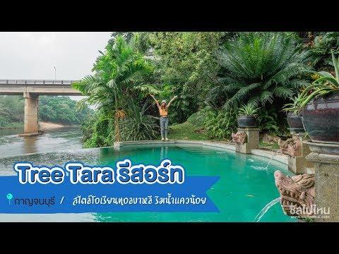 Tree Tara รีสอร์ทสไตล์โอเรียนทอลบาหลี ริมน้ำแควน้อย กาญจนบุรี