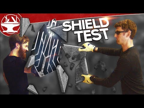 Captain America's INDESTRUCTIBLE SHIELD TEST (INFINITY WAR)