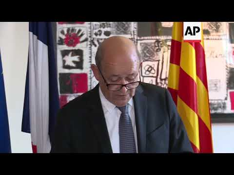 French FM on attacks in Spain