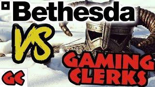 Bethesda 🆚 GamingClerks & Co. | Keine Reviews mehr vor Release