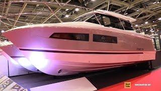 2017 Jeanneau NC9 Motor Yacht - Deck and Interior Walkaround - 2016 Salon Nautique Paris