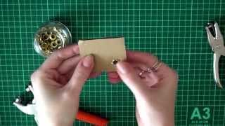 Как установить люверсы (блочки) без специальных инструментов(, 2014-05-15T14:11:58.000Z)