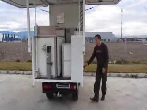 Ausschankwagen für Bierverkauf - autonom