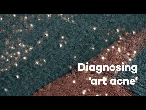 "This strange ""paint disease"" is putting Georgia O'Keeffe paintings"