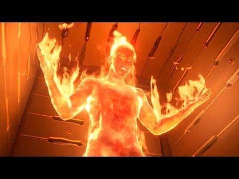 Фантастическая четверка и Виктор Дум получают свои способности. Фантастическая четверка. 2005