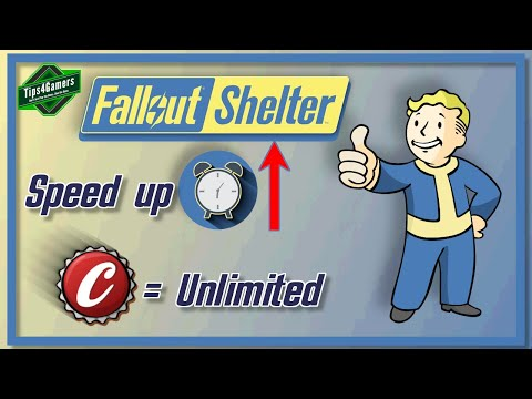 How To Get Unlimited Caps & Speed Up Time In Fallout Shelter | Tips, Tricks & Cheats
