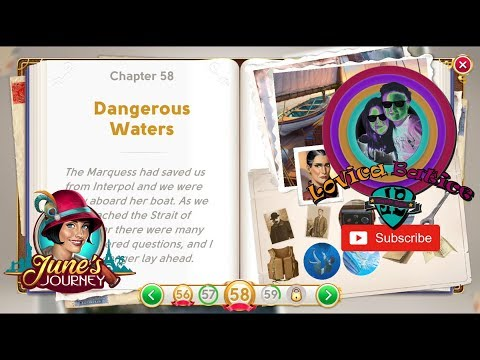 June's Journey - Chapter 58 - Dangerous Waters - Level 286 - 290 - Gameplay