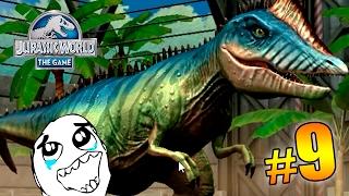 MI PRIMER HÍBRIDO!!! - LUCHAS DINOSAURIOS!! Jurassic World™: The Game PARTE 9