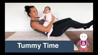 tummy time baby exercises and activities 0 6 month baby development