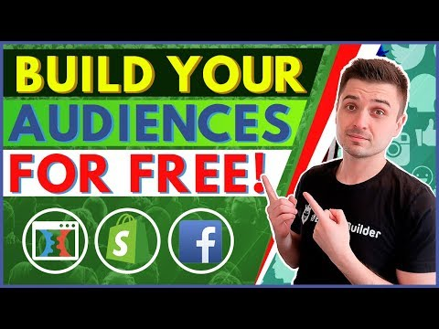 4 EASY WAYS TO BUILD YOUR FACEBOOK PIXEL & RETARGETING AUDIENCES | SHOPIFY CLICKFUNNELS