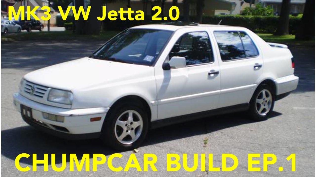 1994 vw jetta 2 0 chumpcar build ep 1