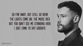 Dancing On My Own Calum Scott Lyrics