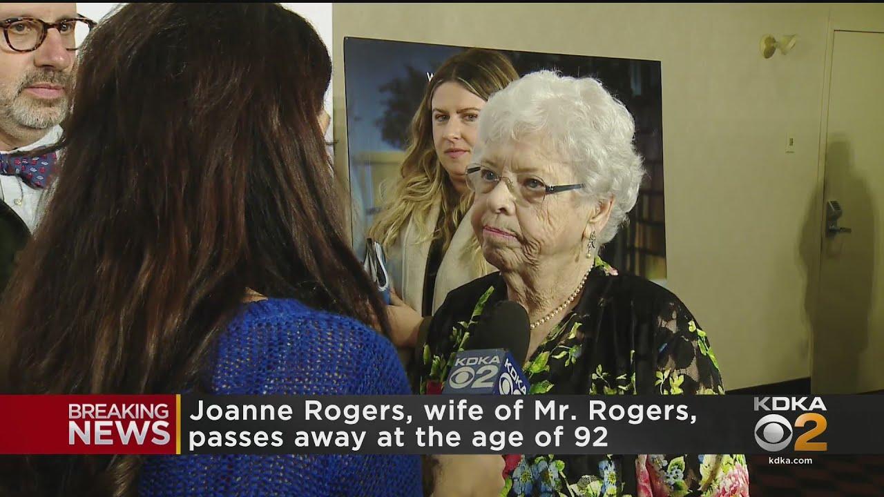 Joanne Rogers, widow of Mister Rogers, dies at 92