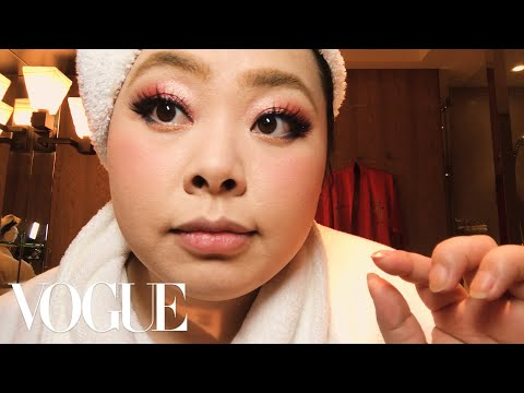 Thumbnail: Naomi Watanabe's Guide to Glitter Eyes and Bold Lips | Beauty Secrets | Vogue