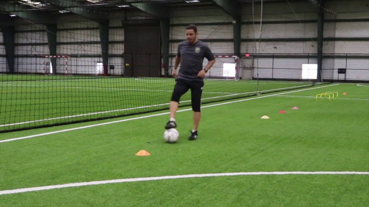 Training From Home Free Kick Soccer Academy Youtube
