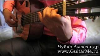 A SPANISH BOY by P. Kalinin on guitar, performed by Alexander Chuyko / Маленький испанец