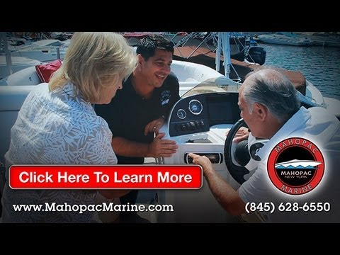Boats For Sale and Repair in New York at Mahopac Marine - Tahoe Pontoon - Stingray