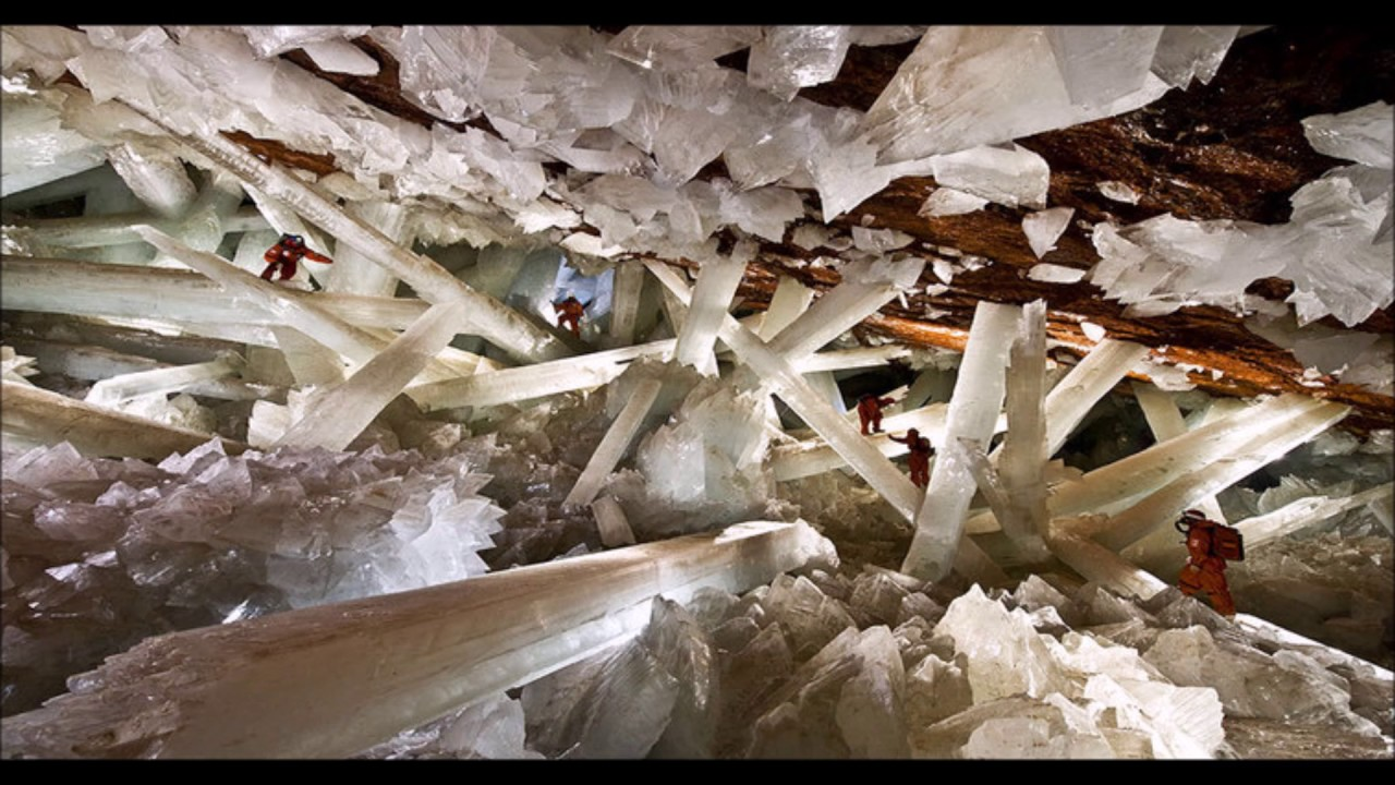 cave of crystals naica mine mexico youtube