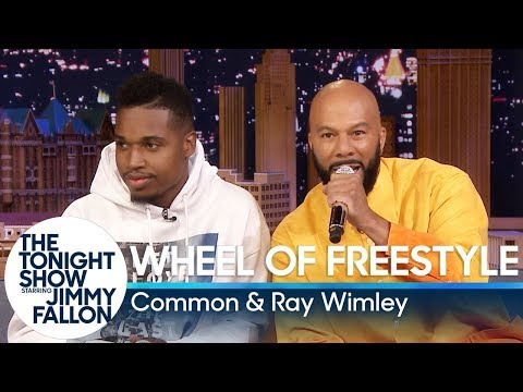Logic MC - Common & Ray Wimley Wheel Of Freestyle