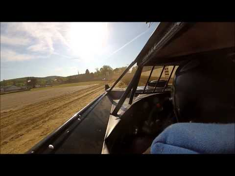 Jared Miley Qualifying at Little Valley Speedway - Two Cameras