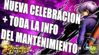 NUEVA CELEBRACION + TODAS LAS NOVEDADES DEL MANTENIMIENTO! /// DRAGON BALL LEGENDS EN ESPAÑOL