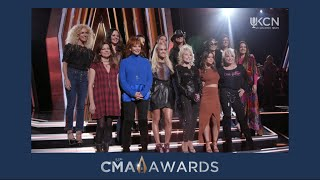 WOMAN OF COUNTRY CMA OPENING PERFORMANCE REHEARSAL