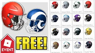 [EVENT] HOW TO GET 32 OF THE NFL HELMETS | Roblox