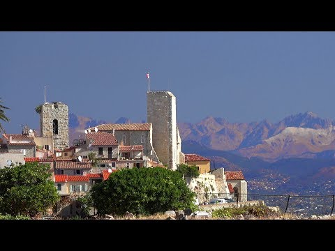 One day in Antibes, France, French Riviera [4K] (videoturysta.eu)