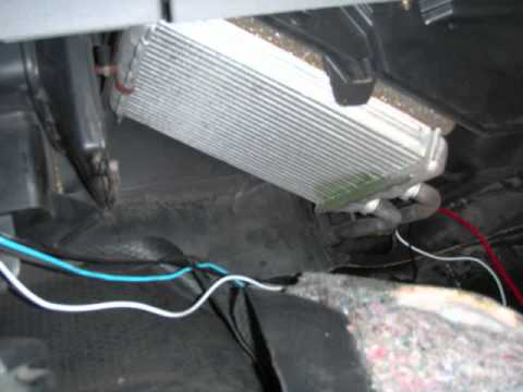 HOW TO GM Truck Heater Core - YouTube