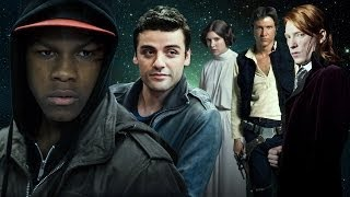 Repeat youtube video Star Wars: Episode VII - Meet the Cast