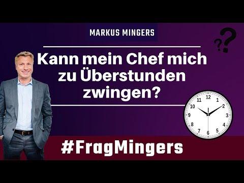 Kann mein Chef mich zu Überstunden zwingen? | #FragMingers