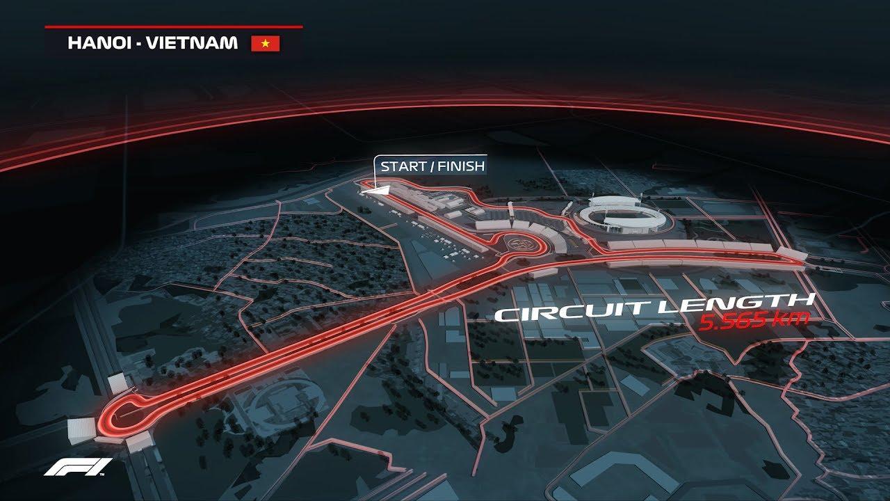 Calendrier F1 2020.Coming Soon Formula 1 2020 Vietnam Grand Prix