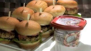 Crunchy-asian Pork Slider For Philadelphia Cooking Creme Contest