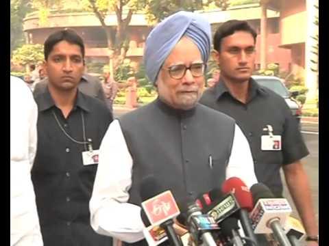 PM Manmohan Singh attends NCC Rally!