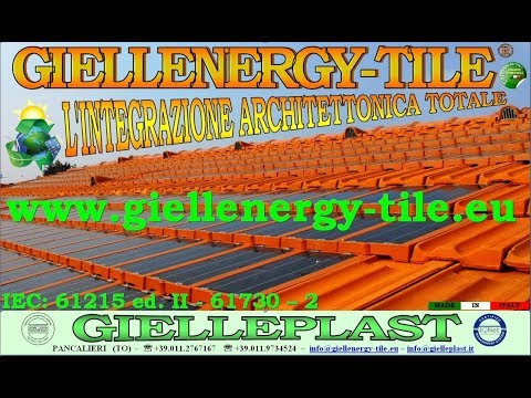 SOLAR ROOF GIELLENERY-TILE