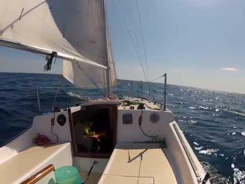Lonegull at sea 2012