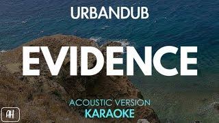 Urbandub Evidence Karaoke Acoustic Instrumental